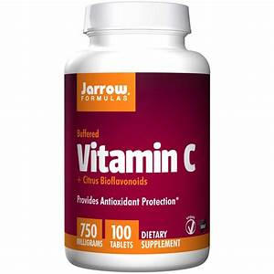 Jarrow Formulas  Vitamin C  750 Mg  100 Tablets