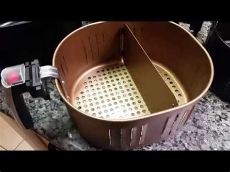 air fryer xl replacement parts cooks essentials air fryer basket replacement with the