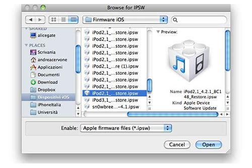 ipsw baixar de software iphone 4