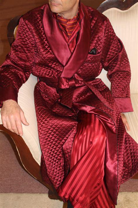 robe de chambre homme en soie robe de chambre classique pour homme en soie satin