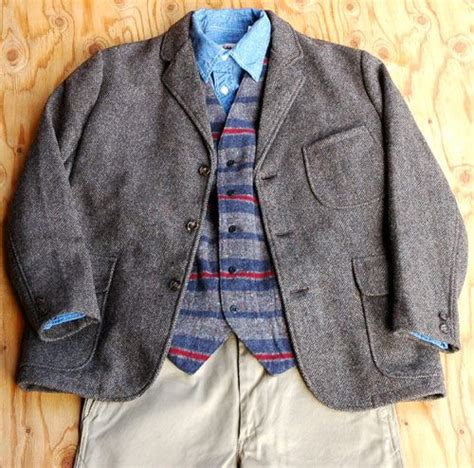 gb sport vintage clothing wool jacket sugar cane light