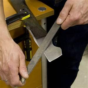 6  Sharpen A Mower Blade