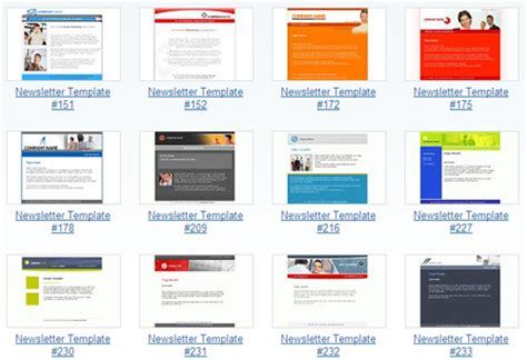newsletter html template excellent html newsletter templates best of hongkiat