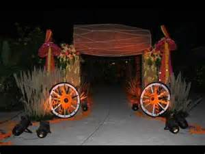 Cubicle Decoration Ideas For Halloween by Village Theme Party Youtube