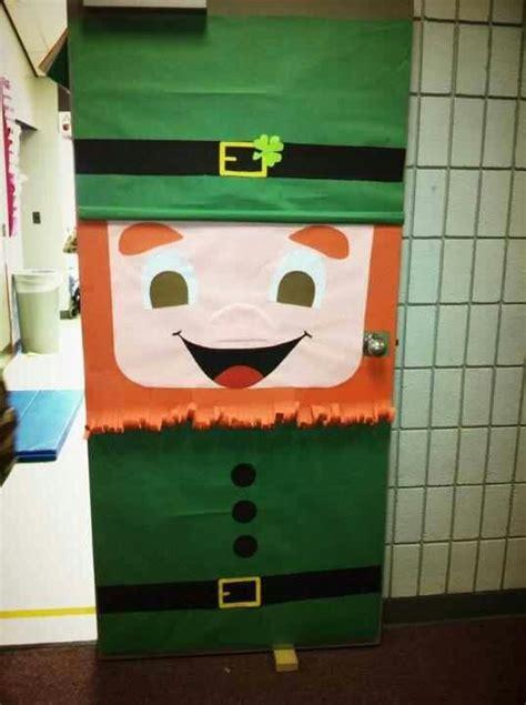 St Day Door Decorations - patricks day door for classroom easy