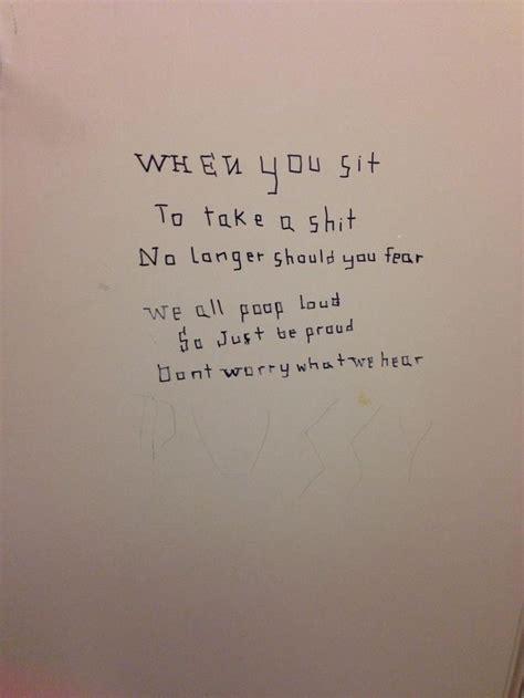Bathroom Stall Meme - best bathroom stall poem meme guy funny pinterest
