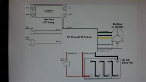 Wiring Diagram by Home Made Bldc Hub Motor Controller Project Ev Wiring