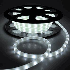 Flex LED Neon Rope Light White 50 Holiday Decorative Lighting