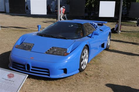 """It successfully captured the lineage of bugatti and modernized it into a 210+ mph road going sports car. Goodwood Road&Racing on Twitter: """"Odd but not slow: the Bugatti EB110 SS takes you from 0-60mph ..."""