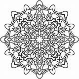 Coloring Mandala Pages Adult Mandalas Zen Patterns Pencil Zentangle Parchment Craft Design15 Books sketch template