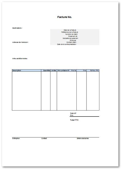 materiel de cuisine pro d occasion modèle gratuit de facture à télécharger sous format excel