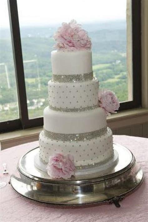 bling wedding cakes wedding cakes pink bling wedding cake 2063308 weddbook