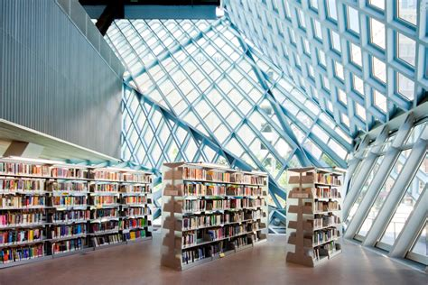 seattle public library oma rem koolhaas   moment