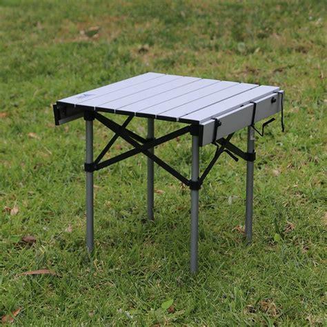 folding table seats 8 brands folding aluminum compact cing table ra i518