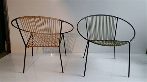 classic mid century modern outdoor quot hoop quot chairs by
