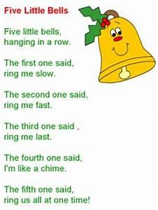 Christmas song Five Little Bells