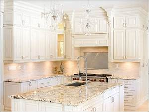antique white glazed cabinets derektime design best With kitchen colors with white cabinets with off sticker