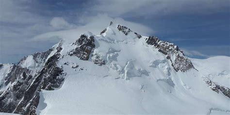 chambre des geometres experts le mont blanc a perdu 1 cm en deux ans et mesure 4 808 72