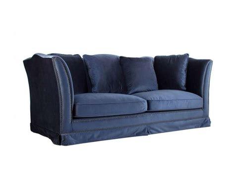 canapé bleu nuit canapé bleu nuit en velours moderne vical home