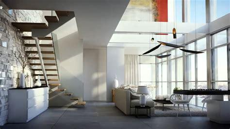 modern duplex apartment design desain rumah minimalis