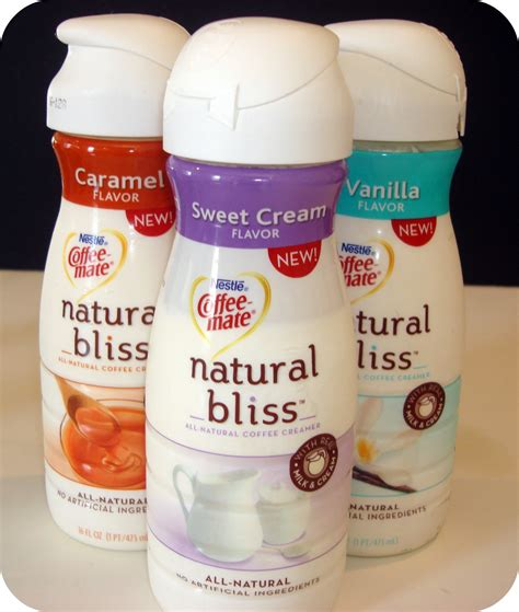 Review & Giveaway: Natural Bliss Coffee Creamers by Coffee mate!   {Not Quite} Susie Homemaker