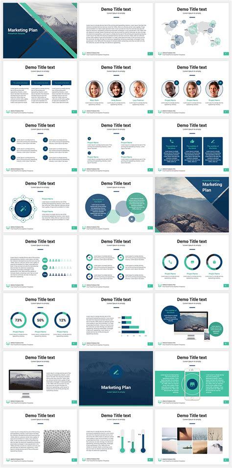 marketing plan  powerpoint template present