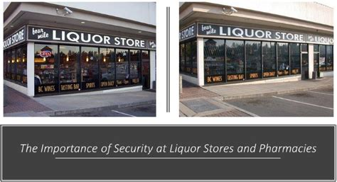 the importance of alarms the importance of security at liquor stores and pharmacies quantum security gates