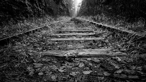 rail track wallpaper  background hd wallpaper