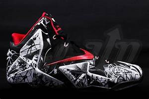 "Nike LeBron 11 (XI) ""Graffiti"" Detailed Images"