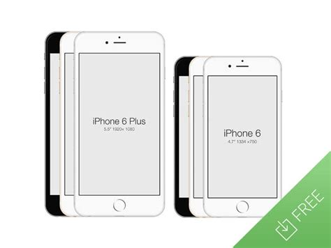 iphone photoshop template iphone 6 free psd mockup template