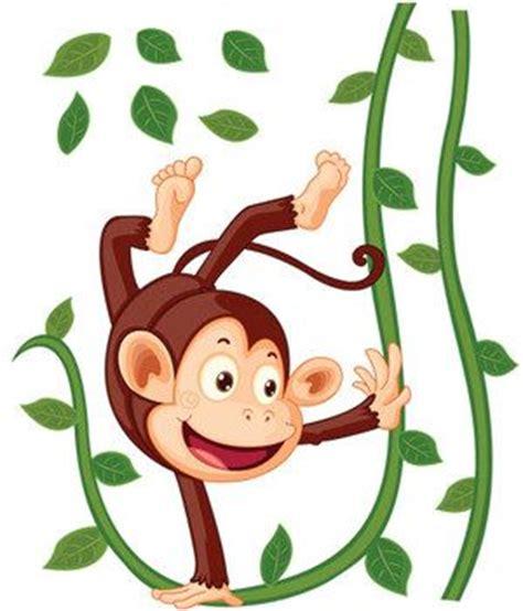 stickers animaux chambre b饕 stickers singe suspendu achat stickers animaux de la jungle pour enfant decore ta chambre stickers bebe 2 animaux stickers et
