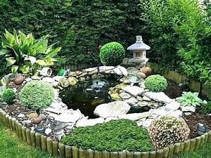 Idee Deco Jardin : idee de decoration jardin exterieur bassin deco photo pic ~ Mglfilm.com Idées de Décoration