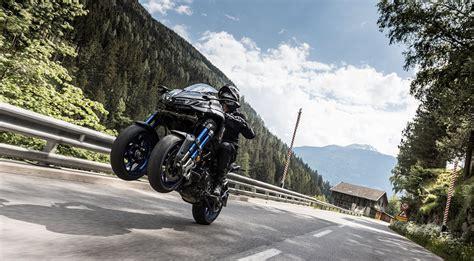 Yamaha Niken Wheelie by 2018 Yamaha Niken Ride Revzilla