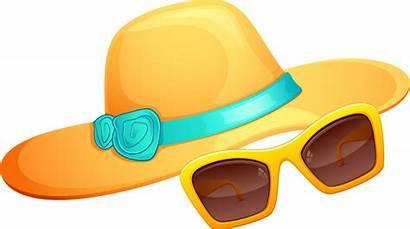 Clothes Clipart Clip Panda Sun Sunglasses Hat