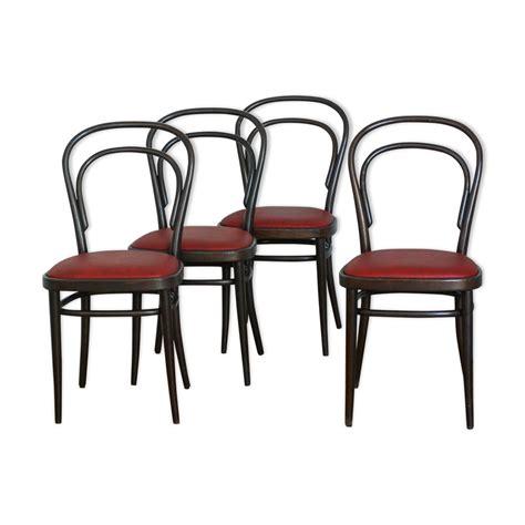 chaises de bistrot lot de 4 chaises bistrot thonet mes petites puces