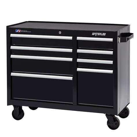 waterloo 53 tool cabinet waterloo w300 series 8 drawer rolling tool cabinet with
