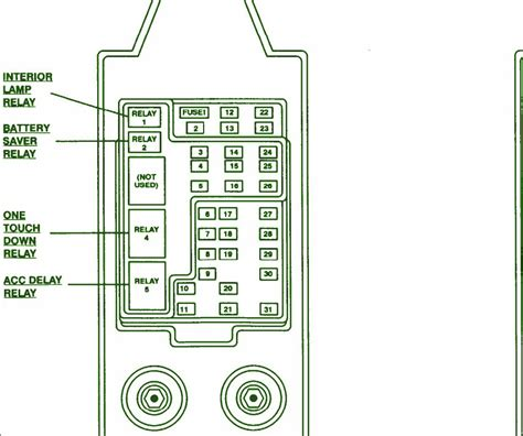 ford    fuse box diagram circuit wiring