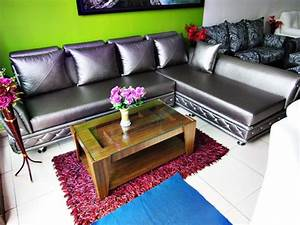 product l shaped black leatherette multiple seater sofa With l shaped sectional sofa in black leatherette