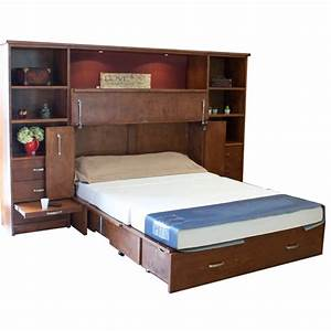 Park Avenue Cabinet Bed Center with Drawers
