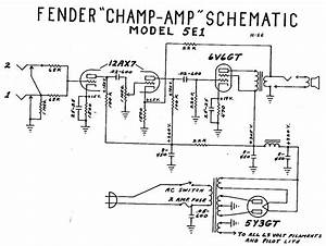 Fender Champ Tube Amp Schematic