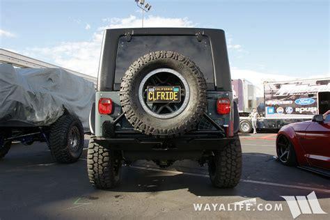 sema jeep 2016 2016 sema cliffride jeep tj wrangler