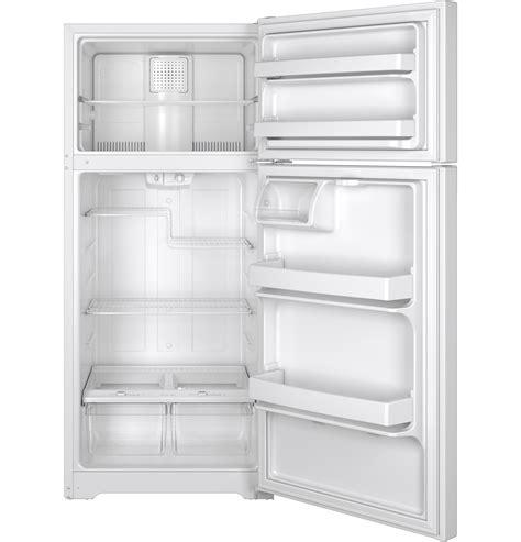 ge energy star  cu ft top freezer refrigerator gtedthww  appliances