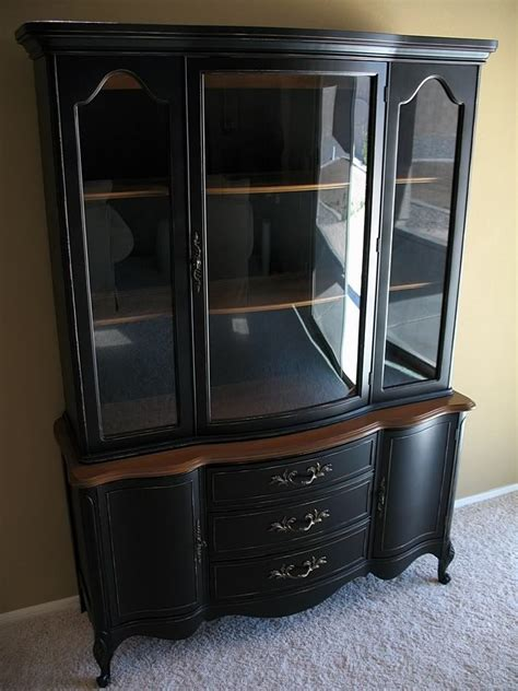 25 best ideas about black hutch on painted