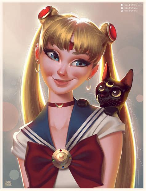 sailor moon beautiful realistic portraits  sailor