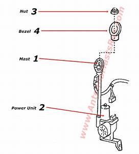 1965 Ford Thunderbird Power Antenna