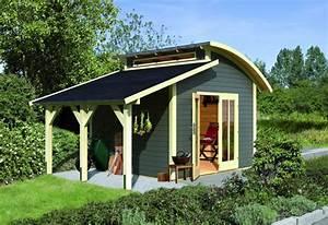 Einfache Holzfenster Für Gartenhaus : wir f hren gartenh user von palmako und karibu holz ~ Articles-book.com Haus und Dekorationen