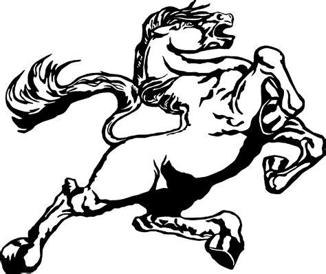 mustang horse logo mustang horse logo clip art