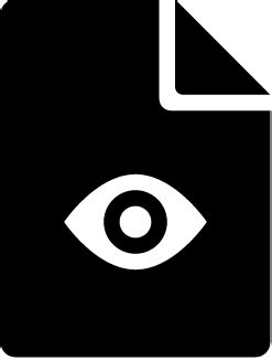 ux designer - Icon for viewing document that's easy to