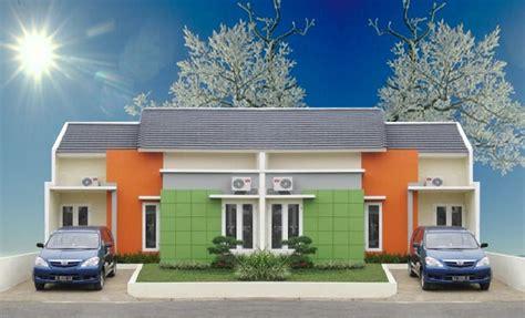 gambar desain rumah minimalis type  kopel terbaru