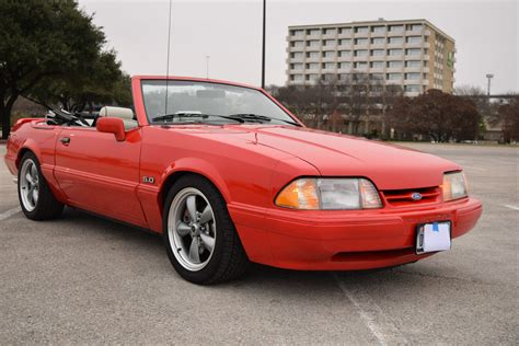 Mustang For Sale by 1992 Ford Mustang Lx Convertible For Sale